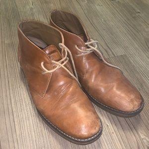 Men's St. John's Bay brown leather dress shoes